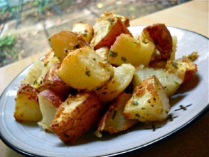 Parmesan Roasted Potatoes2