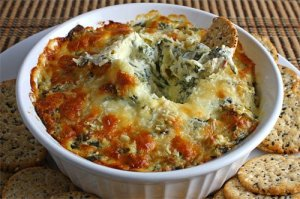 Spinach and Artichoke Dip 500