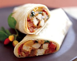 turkey burrito