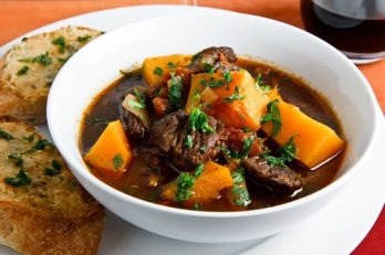 Italian Style Beef Stew with Butternut Squash 500