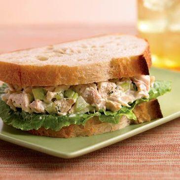 herbed chicken salad sandwich