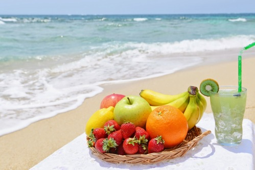 Image result for eating healthy on vacation